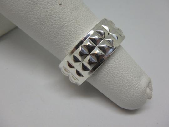 Tiffany & Co. Tiffany & Co Germany Studded Solid Band Ring Size 4 Image 4