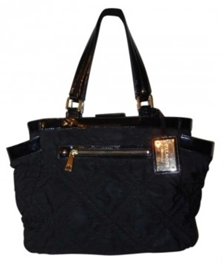 Preload https://img-static.tradesy.com/item/171964/talbots-quilted-black-polyester-tote-0-0-540-540.jpg