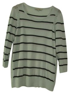 Ann Taylor LOFT Stripes Scoop Neck Sweater