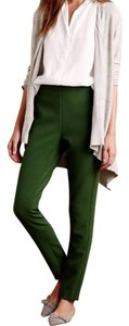 Anthropologie Skinny Pants Green