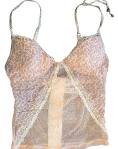 La Perla Top Peach and cream