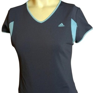 adidas T Shirt gray/blue