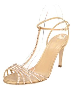 Sergio Rossi Evening Crystal T-strap Open Toe Formal