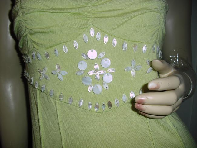 Mother of Pearl Top pistachio green Image 1