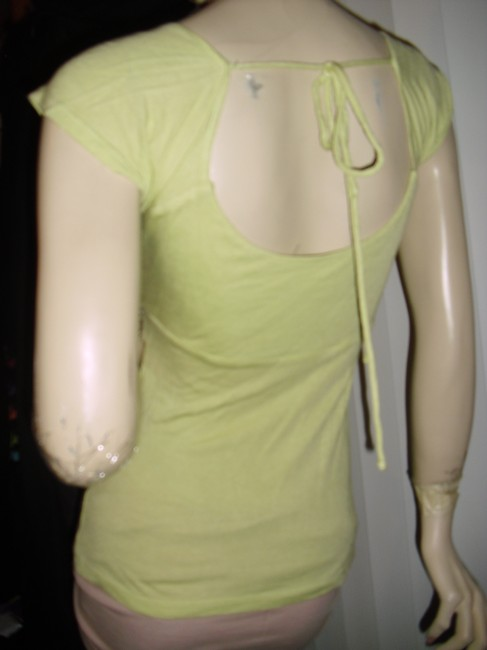 Mother of Pearl Top pistachio green Image 2
