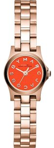 Marc by Marc Jacobs Marc by Marc Jacobs Rose Gold Bracelet Orange Dial Women's Watch