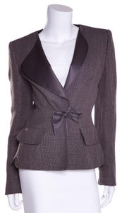 Giorgio Armani Brown & Grey Blazer