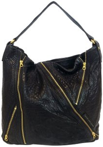 Marc by Marc Jacobs Leola Leather Zippers Tote in Black
