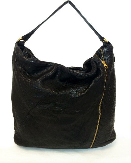 Marc by Marc Jacobs Leola Leather Zippers Tote in Black Image 10