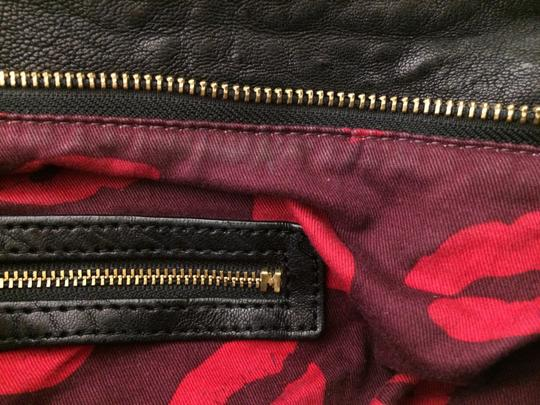 Marc by Marc Jacobs Leola Leather Zippers Tote in Black Image 3