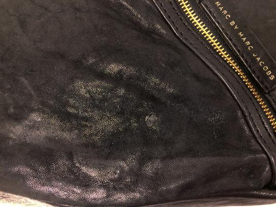Marc by Marc Jacobs Leola Leather Zippers Tote in Black Image 5
