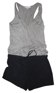 DREW Jumper Shorts grey & navy blue