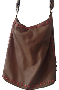 Dimoni Leather Shoulder Bag