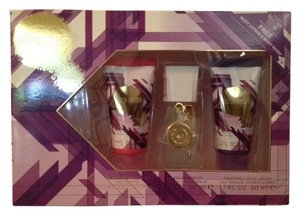Other Justin Bieber Gold Collector's Edition 3 Pc Gift Set Perfume, Lotion & Body Wash