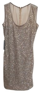 Maria Bianca Nero Sequins Go Out Dress
