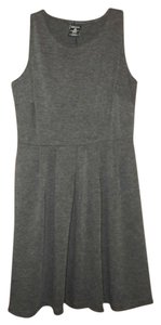 George short dress Heather Gray Pleated on Tradesy