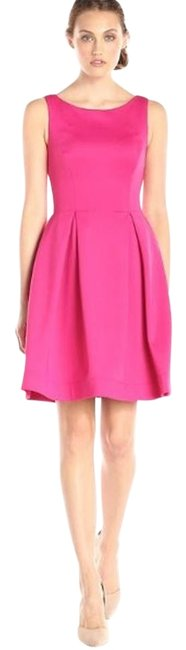 Preload https://img-static.tradesy.com/item/17199037/calvin-klein-winter-rose-new-women-s-sleeveless-pleated-fit-and-flare-above-knee-workoffice-dress-si-0-1-650-650.jpg