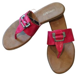 Aerosoles Fuchsia Pet Free Smoke Free Hot Pink Sandals