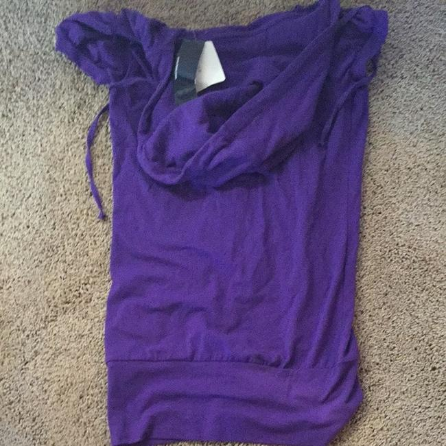 Klutch Hooded T Shirt Purple