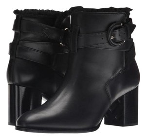Burberry Thornton Ankle Outdoors Housecheck Black Boots