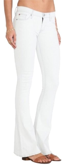 Item - White The Angel Flare Leg Jeans Size 24 (0, XS)