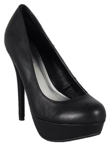 Bamboo Black Pumps