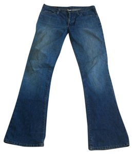 Abercrombie & Fitch Stone Wash Boot Cut Jeans-Medium Wash