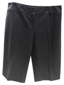 New Directions Cuffed Shorts black