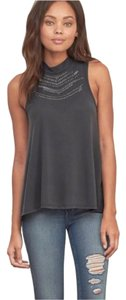 Abercrombie & Fitch Top Gray