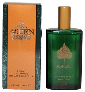Bicici & Coty ASPEN by COTY Men's Cologne Spray 4oz/118ml *Brand New*