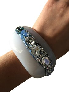 Swarovski Swarovski white and blue bangle