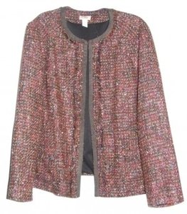 Chico's Brown multi Blazer