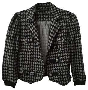 Marc by Marc Jacobs Houndstooth Black/Grey Blazer