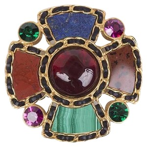 Chanel Gripoix Jewel Brooch