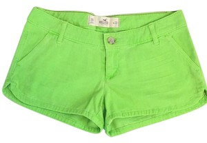 Hollister Mini/Short Shorts Neon Lime green