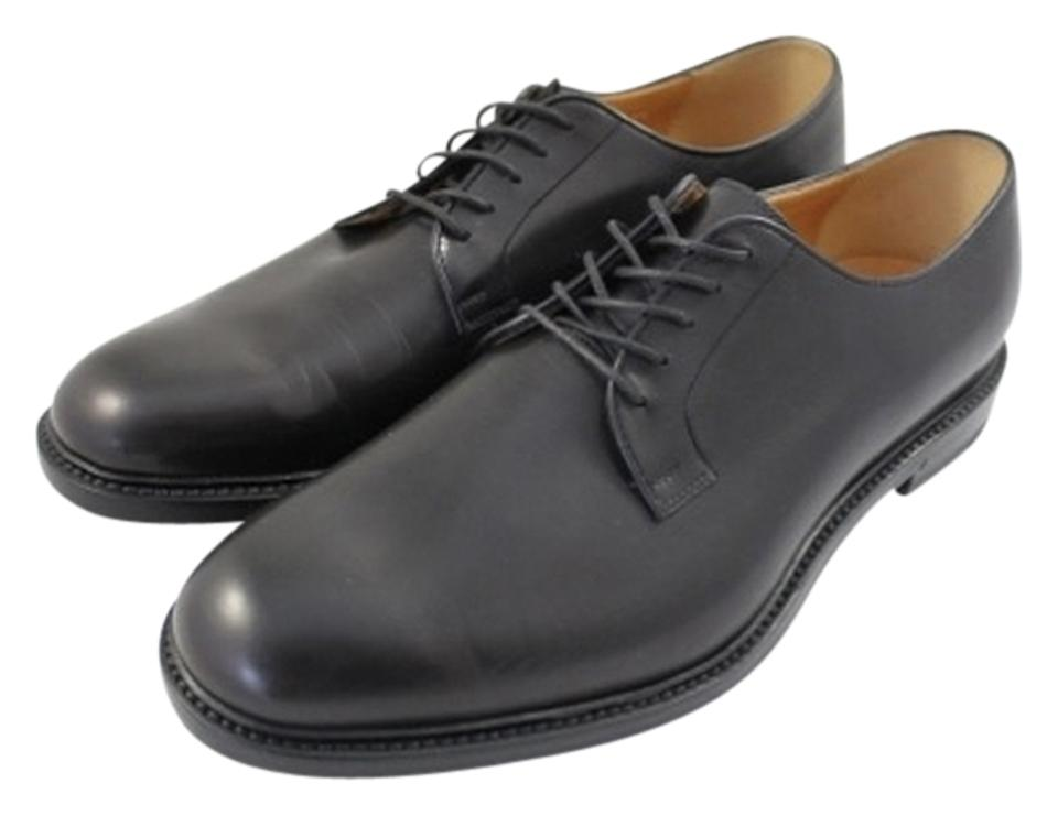 66e1884ded Gucci Black Mens Leather Lace-up Oxford 295618 Formal Shoes Size US ...