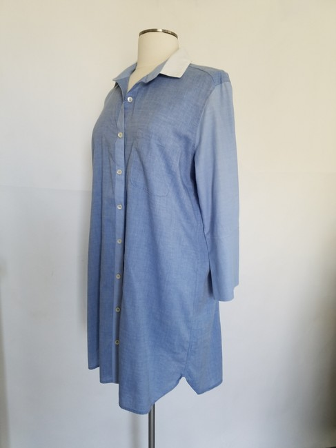 Felicité short dress blue Shirt Shift Denim Boyfriend on Tradesy Image 2