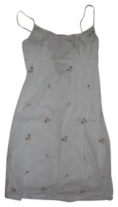 Rouge short dress white Embellished Embroidered on Tradesy