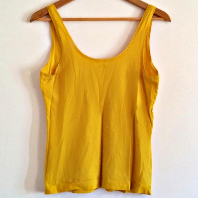 Kate Spade Designer Goldenrod Chartreuse Citrine Top Yellow Image 3