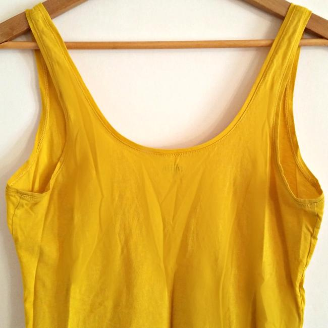 Kate Spade Designer Goldenrod Chartreuse Citrine Top Yellow Image 4
