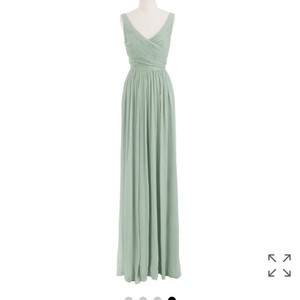 J.Crew Dusty Shale / Mint Dress