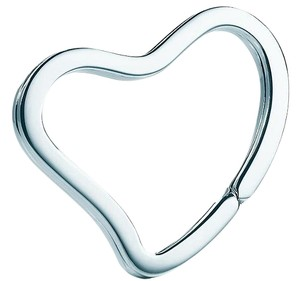 Tiffany & Co. ELSA PERETTI(R) OPEN HEART KEY RING