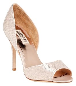 Badgley Mischka Rhinestone 10 Pink Formal