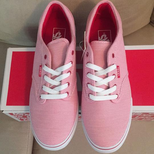 Vans Red, White Athletic Image 1
