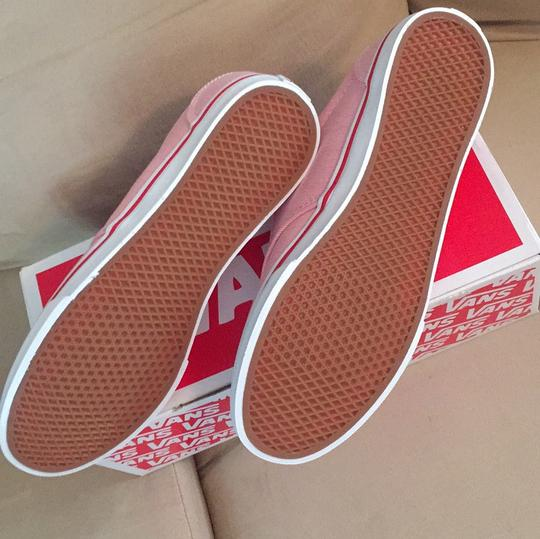 Vans Red, White Athletic Image 2