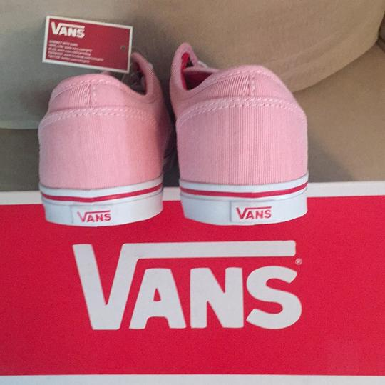 Vans Red, White Athletic Image 3