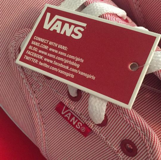 Vans Red, White Athletic Image 6
