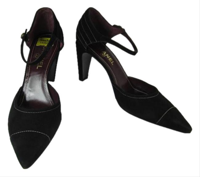 Chanel Black Mary Jane Pumps Size US 11 Regular (M, B) Chanel Black Mary Jane Pumps Size US 11 Regular (M, B) Image 1