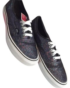 Vans Black Rainbow Sparkles Athletic