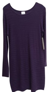 Nicole Miller short dress Purple Long Sleeve on Tradesy